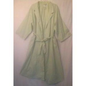 Aria Gingham Robe Green Extra-Large